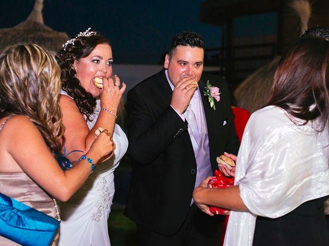 La boda de José y Rocío en Algeciras, Cádiz 94