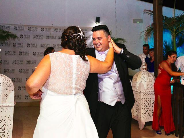 La boda de José y Rocío en Algeciras, Cádiz 130