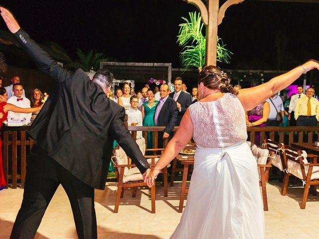 La boda de José y Rocío en Algeciras, Cádiz 131