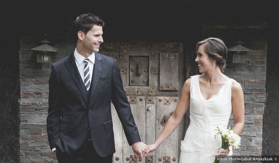 La boda de Iker y Aitziber en Zarautz, Guipúzcoa