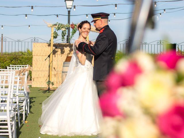 La boda de Emiliano y Raquel en Villagarcia Del Llano, Cuenca 7