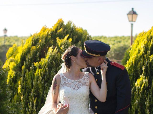 La boda de Emiliano y Raquel en Villagarcia Del Llano, Cuenca 9