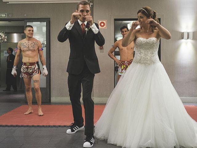 La boda de Toni y Valentina en Sant Boi De Llobregat, Barcelona 10