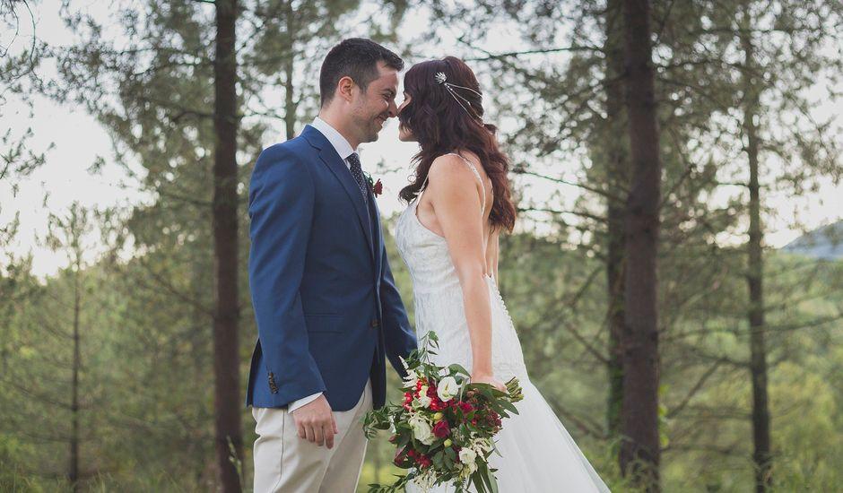 La boda de Victor y Ana en Estanyol, Girona