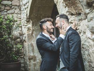 La boda de Fabio y Savio