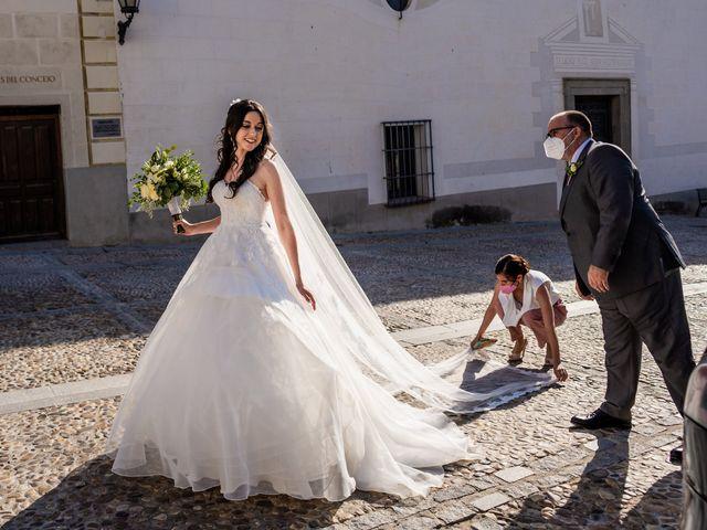La boda de Fran y Sara en Batres, Madrid 14