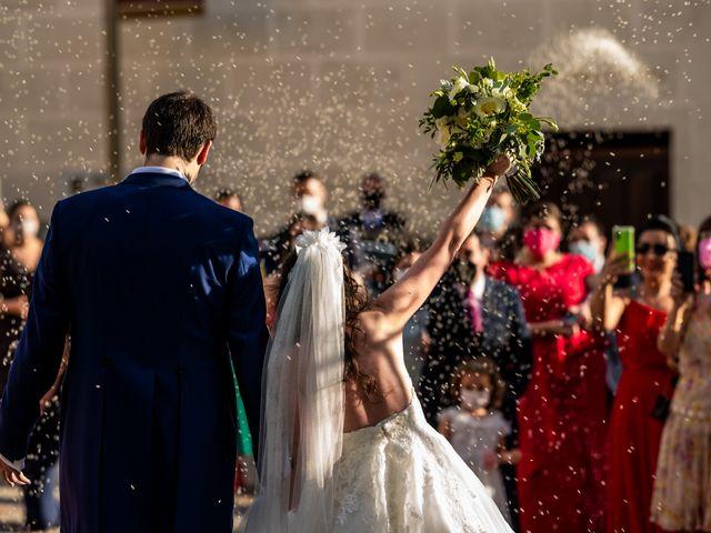 La boda de Fran y Sara en Batres, Madrid 23