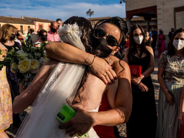 La boda de Fran y Sara en Batres, Madrid 25