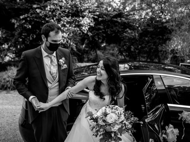La boda de Fran y Sara en Batres, Madrid 29