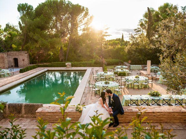La boda de Fran y Sara en Batres, Madrid 36