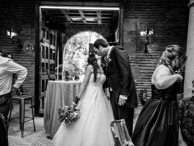 La boda de Fran y Sara en Batres, Madrid 40