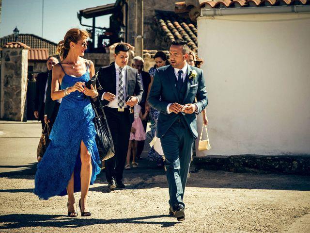 La boda de Sergio y María en Santa Maria De Sando, Salamanca 14
