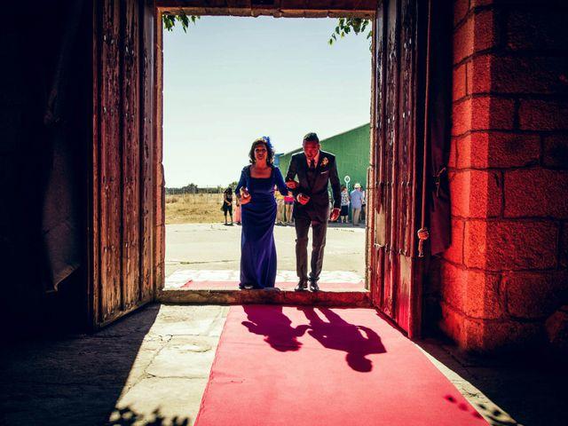La boda de Sergio y María en Santa Maria De Sando, Salamanca 15