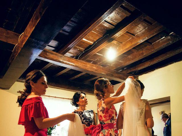 La boda de Sergio y María en Santa Maria De Sando, Salamanca 21