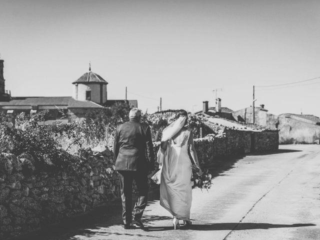 La boda de Sergio y María en Santa Maria De Sando, Salamanca 27