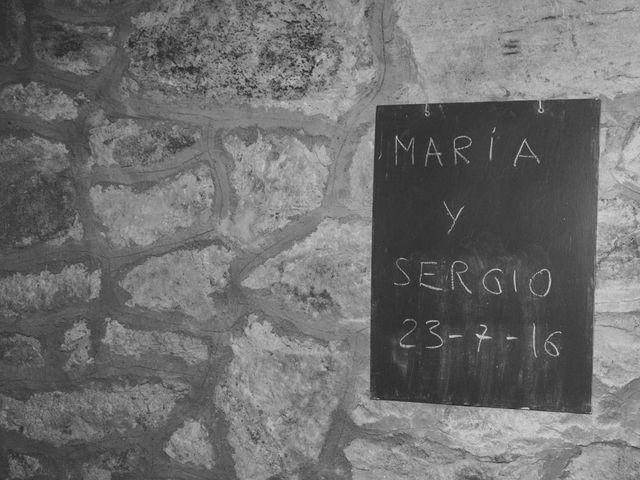 La boda de Sergio y María en Santa Maria De Sando, Salamanca 32