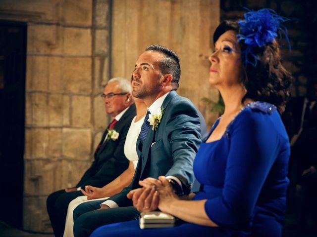 La boda de Sergio y María en Santa Maria De Sando, Salamanca 33