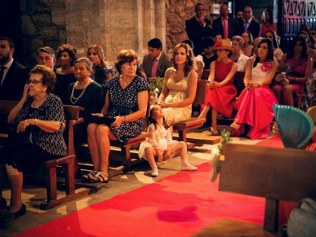 La boda de Sergio y María en Santa Maria De Sando, Salamanca 37