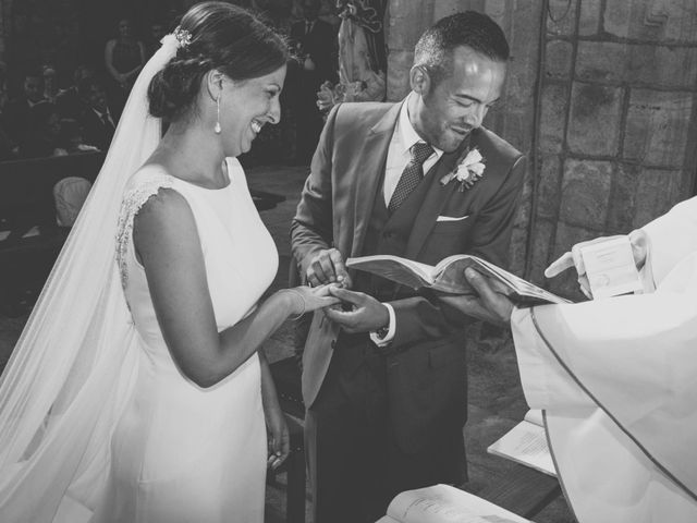 La boda de Sergio y María en Santa Maria De Sando, Salamanca 38
