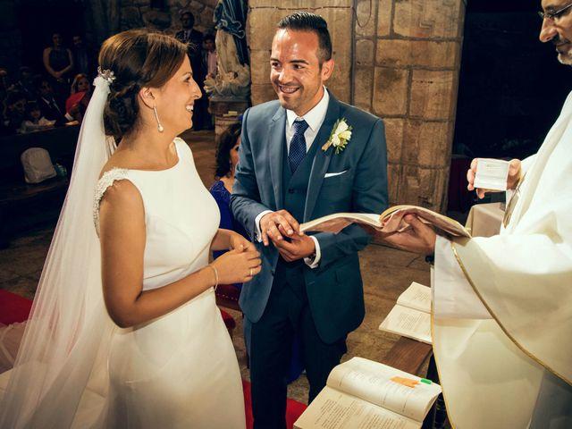 La boda de Sergio y María en Santa Maria De Sando, Salamanca 40