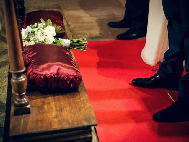 La boda de Sergio y María en Santa Maria De Sando, Salamanca 41