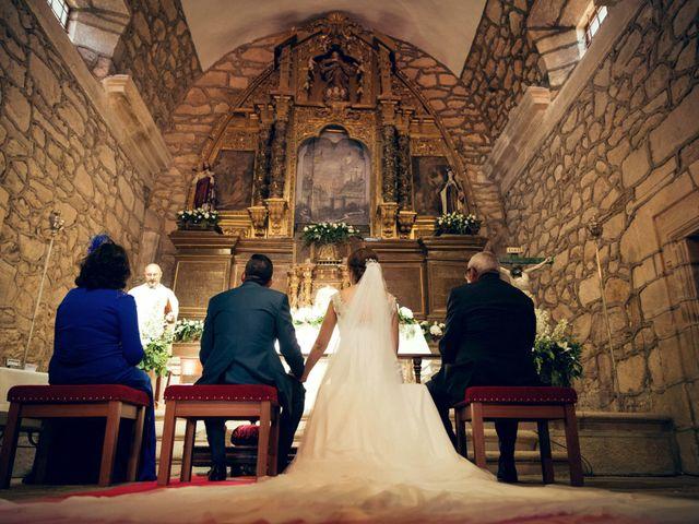 La boda de Sergio y María en Santa Maria De Sando, Salamanca 43