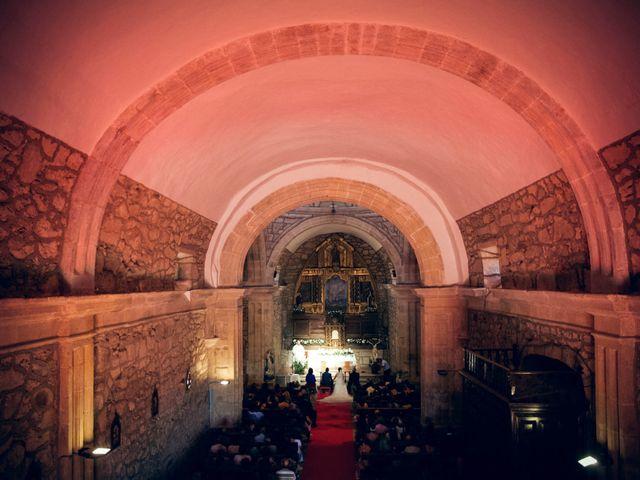 La boda de Sergio y María en Santa Maria De Sando, Salamanca 44