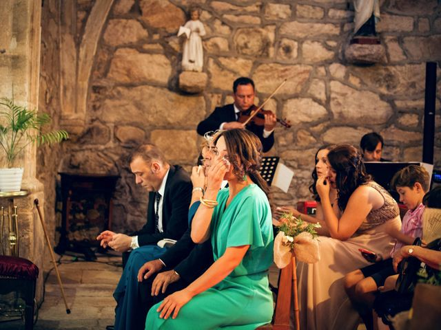 La boda de Sergio y María en Santa Maria De Sando, Salamanca 45