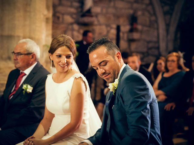 La boda de Sergio y María en Santa Maria De Sando, Salamanca 48