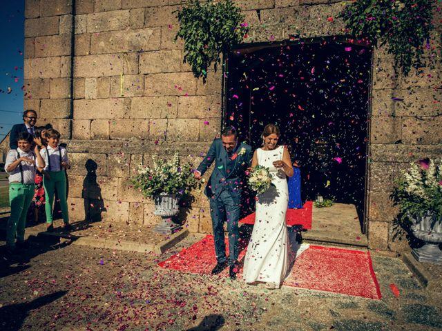 La boda de Sergio y María en Santa Maria De Sando, Salamanca 51