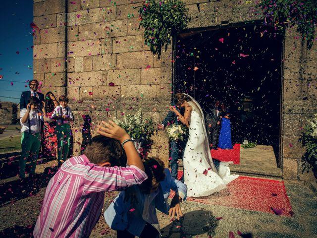 La boda de Sergio y María en Santa Maria De Sando, Salamanca 52
