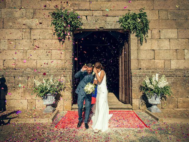 La boda de Sergio y María en Santa Maria De Sando, Salamanca 53