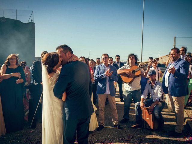 La boda de Sergio y María en Santa Maria De Sando, Salamanca 54