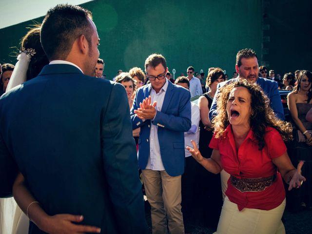 La boda de Sergio y María en Santa Maria De Sando, Salamanca 55