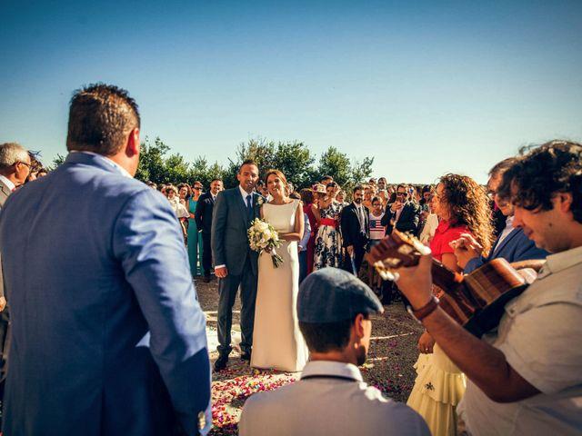 La boda de Sergio y María en Santa Maria De Sando, Salamanca 56