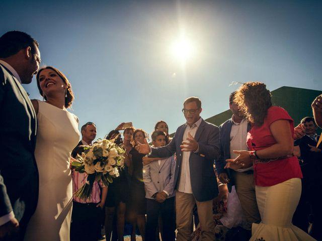 La boda de Sergio y María en Santa Maria De Sando, Salamanca 58