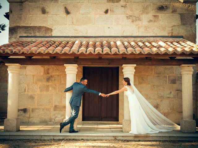 La boda de Sergio y María en Santa Maria De Sando, Salamanca 69