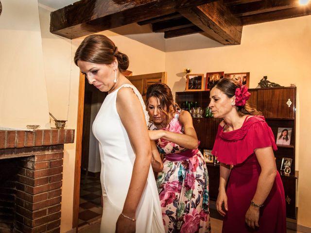 La boda de Sergio y María en Santa Maria De Sando, Salamanca 20