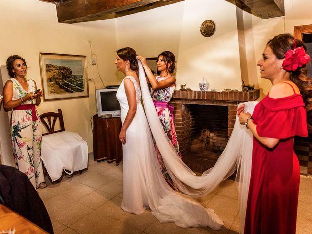 La boda de Sergio y María en Santa Maria De Sando, Salamanca 22