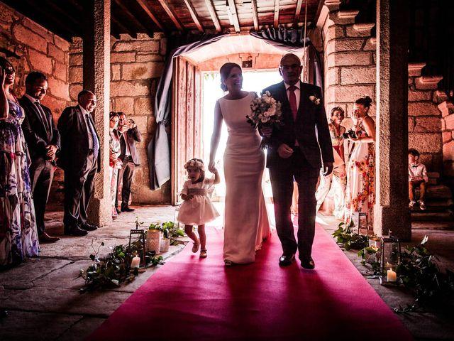 La boda de Sergio y María en Santa Maria De Sando, Salamanca 31