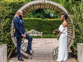La boda de Saidat y Julius