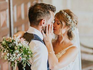 La boda de Aleksandra y Rubén