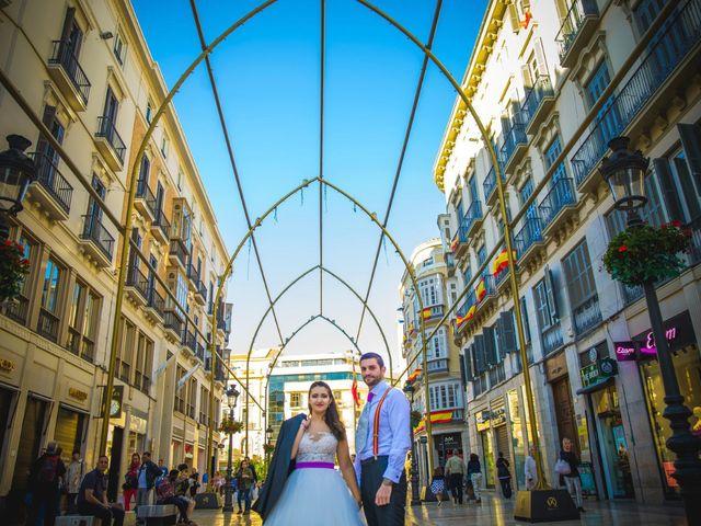 La boda de Alejandro y Gema en Alhaurin El Grande, Málaga 7