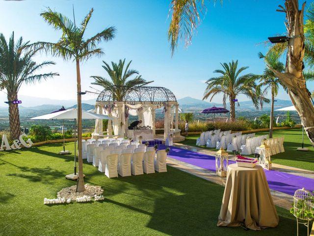 La boda de Alejandro y Gema en Alhaurin El Grande, Málaga 61