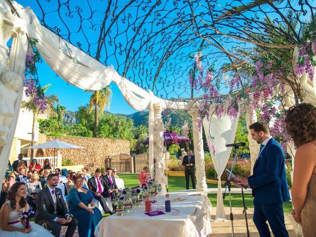 La boda de Alejandro y Gema en Alhaurin El Grande, Málaga 79