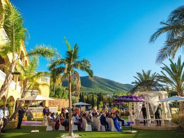 La boda de Alejandro y Gema en Alhaurin El Grande, Málaga 83