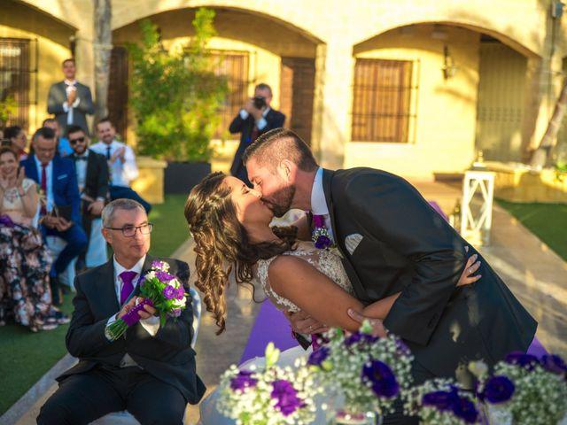 La boda de Alejandro y Gema en Alhaurin El Grande, Málaga 98