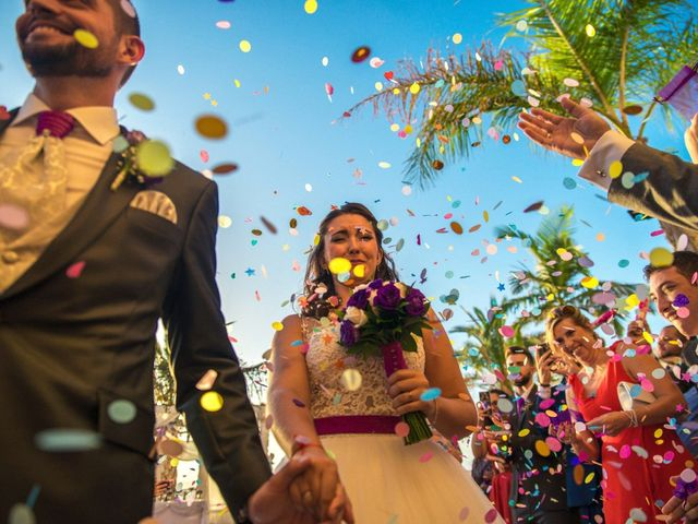 La boda de Alejandro y Gema en Alhaurin El Grande, Málaga 1