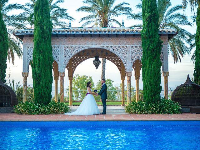 La boda de Alejandro y Gema en Alhaurin El Grande, Málaga 112