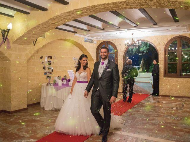 La boda de Alejandro y Gema en Alhaurin El Grande, Málaga 128